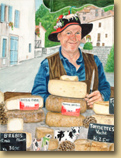 """Le Fromager (The Cheese Seller) - Quillan"""